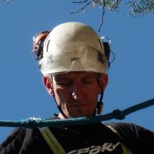 Hubert PIRAT, fondateur d'Arbre & Montagne et coordonnateur des interventions.