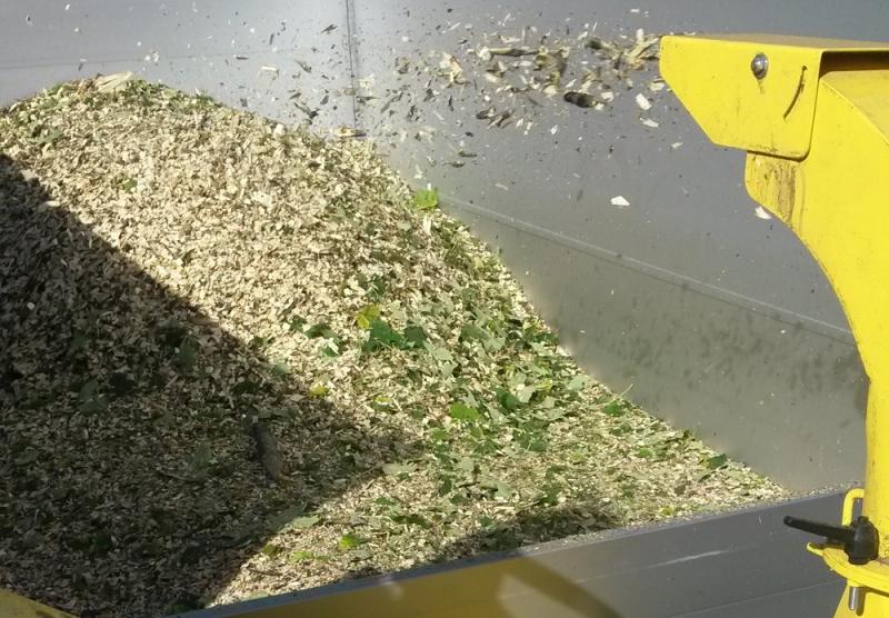 Broyage des déchets de taille : transformation en BRF